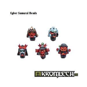 Kromlech   Legionary Conversion Parts Cyber Samurai Heads (10) - KRCB027 - 5902216110250
