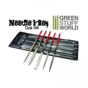Green Stuff World   Green Stuff World Tools GSW Diamond Needle Files Set - Grit 150 - 8436554360345ES - 8436554360345