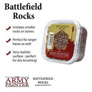 The Army Painter   Cork Battlefields: Battlefield Rocks - APBF4117 - 5713799411708