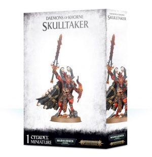 Games Workshop Warhammer 40,000 | Age of Sigmar  Chaos Daemons Daemons of Khorne Skulltaker - 99129915051 - 5011921113163
