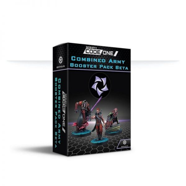 Corvus Belli Infinity  Combined Army Combined Army Booster Pack Beta - 281609-0860 - 2816090008608