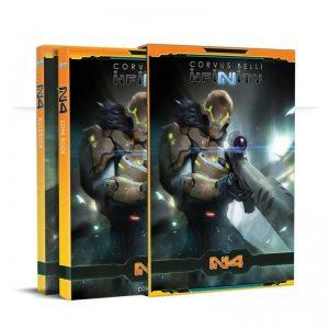 Corvus Belli Infinity  Infinity Essentials Infinity N4 - English Rulebook - 288603 - 2886030000009