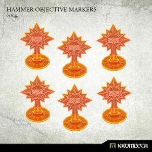 Kromlech   Objective Markers Hammer Objective Markers [orange] (6) - KRGA041 - 5902216114890