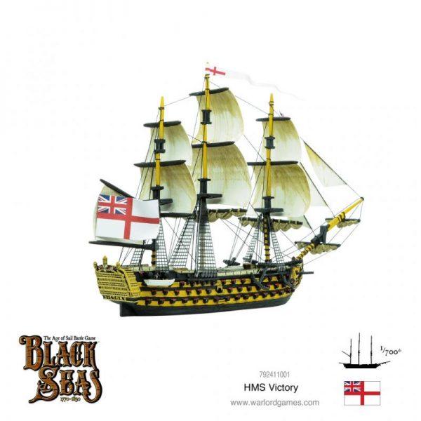 Warlord Games Black Seas  Black Seas Black Seas: HMS Victory - 792411001 - 5060572505186