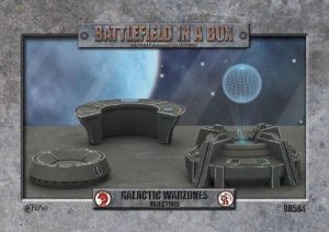 Gale Force Nine   Battlefield in a Box Galactic Warzones: Objectives - BB584 - 9420020241404