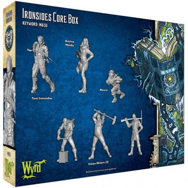 Wyrd Malifaux  Arcanists Ironsides Core Box - WYR23312 - 812152030794