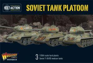 Warlord Games Bolt Action  Soviet Union (BA) Soviet Tank Platoon - WGB-START-14 - 5060393701071