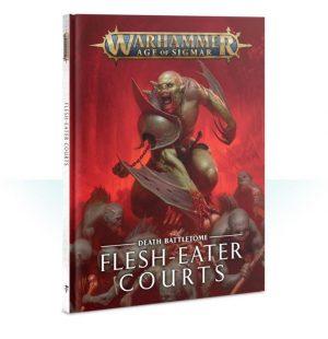Games Workshop Age of Sigmar  Flesh Eater Courts Battletome: Flesh-eater Courts - 60030207012 - 9781788264297