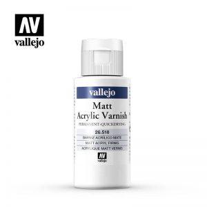 Vallejo   Vallejo Extras AV Vallejo - Liquid Varnish - 55ml Matt - VAL26518 - 8429551265188
