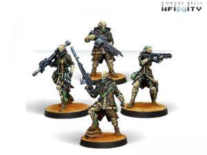 Corvus Belli Infinity  Haqqislam Zhayedan Intervention Troops - 281402-0770 - 2814020007707