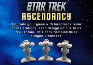 Battlefront Star Trek: Ascendancy  Star Trek Ascendancy Star Trek Ascendancy: Klingon Starbases - ST030 - 9420020237391