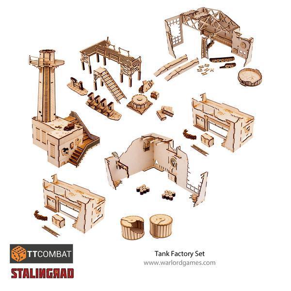 Warlord Games   World War Scenics Stalingrad Tank Factory - TT_Stalin01 - 5060572506053