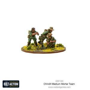 Warlord Games Bolt Action  Great Britain (BA) Chindit Medium Mortar team - 403011203 - 5060393708346