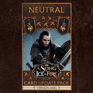Cool Mini or Not A Song of Ice and Fire  Neutral A Song Of Ice and Fire: Neutral Faction Pack - CMNSIFFP5 -