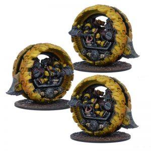 Mantic Kings of War  Veer-Myn Veer-myn Tunnel Runner Formation - MGWPV402 - 5060469662091