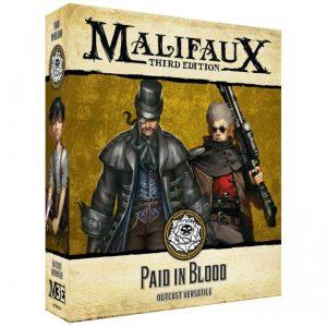 Wyrd Malifaux  Outcasts Paid in Blood - WYR23524 - 812152032606