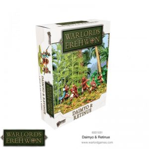 Warlord Games (Direct) Warlord of Erehwon  Warlords of Erehwon Warlords of Erehwon: Daimyo & Retinue - 692015001 - 5060572504547