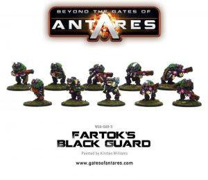 Warlord Games Beyond the Gates of Antares  SALE! Fartok's Black Guard (10 Models) - WGA-GAR-11 - 5060393703969