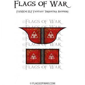 North Star Oathmark  Oathmark ELF Fantasy Triquetra Banners - FANE04 -