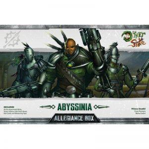 Wyrd The Other Side  Abyssinia Abyssinia Allegiance Box - Prince Unathi - WYR40151 - 812152030176