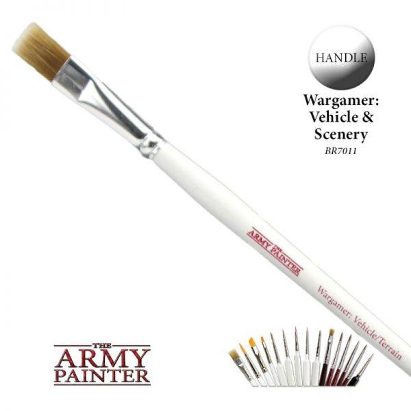The Army Painter   Army Painter Brushes Wargamer Brush: Vehicle / Terrain - APBR7011 - 5713799701106