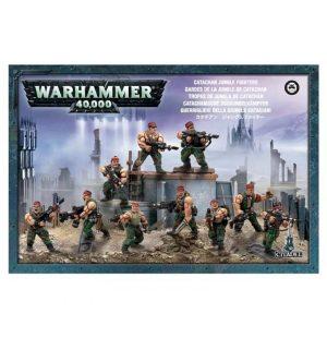 Games Workshop (Direct) Warhammer 40,000  40k Direct Orders Catachan Jungle Fighters - 99120105040 - 5011921015580