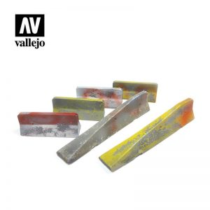 Vallejo   Vallejo Scenics Vallejo Scenics - 1:35 Urban Concrete Barriers - VALSC228 - 8429551984676