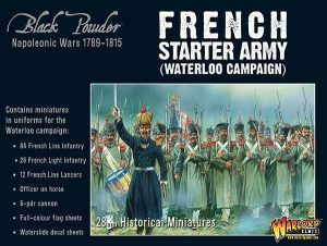 Warlord Games Black Powder  French (Napoleonic) Napoleonic French starter army (Waterloo campaign) - 309912005 - 5060393708216
