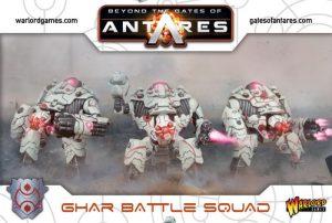 Warlord Games Beyond the Gates of Antares  SALE! Ghar Battle Squad - WGA-GAR-02 - 5060393702870