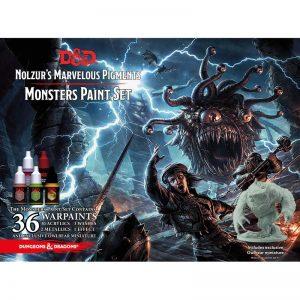 The Army Painter Dungeons & Dragons  Paint Sets D&D: Nolzur's Monster Paint Set - APWP75002 - 5713799750029