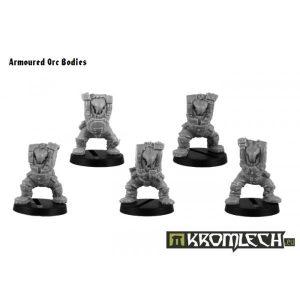 Kromlech   Orc Conversion Parts Armoured Orc Bodies (5) - KRCB092 - 5902216110908