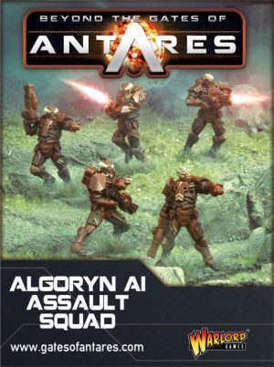Warlord Games Beyond the Gates of Antares  SALE! Algoryn AI Assault Squad - WGA-ALG-01 - 5060393701217