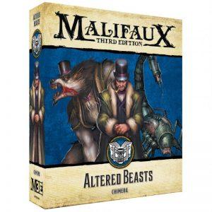 Wyrd Malifaux  Arcanists Altered Beasts - WYR23308 - 812152031579
