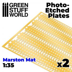 Green Stuff World   Etched Brass Photo etched - MARSTON MATS 1/35 - 8435646501147ES -