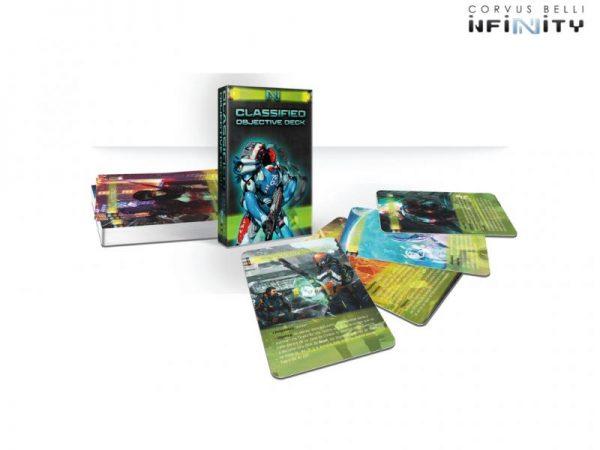 Corvus Belli Infinity  Infinity Essentials Mazo Objetivos Clasificados (ES) - 286004 - 2860040000013