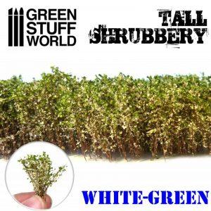 Green Stuff World   Plants & Flowers Tall Shrubbery - White Green - 8436574504262ES - 8436574504262
