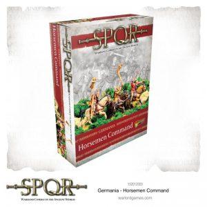 Warlord Games SPQR  SPQR SPQR: Germania Horsemen Command - 152012003 - 5060572505322