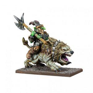 Mantic Kings of War  Goblins Goblin King on Mawbeast - MGKWG205 - 5060469666167