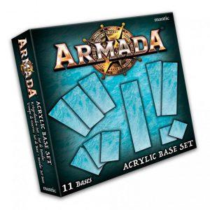 Mantic Kings of War Armada  Kings of War Armada Essentials Armada Acrylic Bases Set - MGARM104 - 5060469666433
