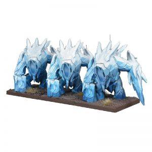 Mantic Kings of War  Northern Alliance Northern Alliance Ice Elemental Regiment - MGKWL403 - 5060469664798