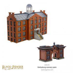 Warlord Games Black Powder Epic Battles  Black Powder Epic Battles Black Powder Epic Battles: ACW Gettysburg Scenery Pack - 318814001 - 5060572509320
