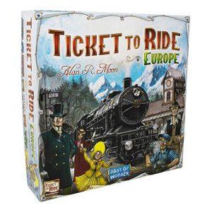 Days of Wonder Ticket to Ride  Ticket to Ride Ticket to Ride: Europe - DOW7202 - 824968717929