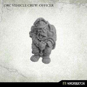 Kromlech   Orc Model Kits Orc Vehicle Crew: Officer (1) - KRM128 - 5902216115347