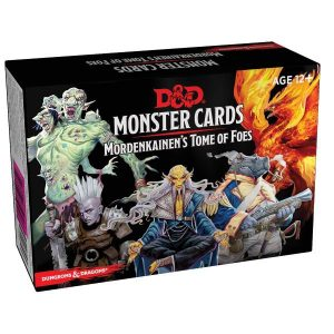 Gale Force Nine Dungeons & Dragons  D&D Decks D&D: Monster Cards Mordenkainen's Tome of Foes - C7228000 - 9780786966844