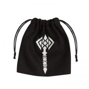 Q-Workshop   Dice Accessories Hammer Black & glow-in-the-dark Dice Bag - BHAM131 - 5907699493364