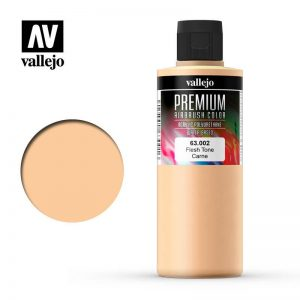 Vallejo   Premium Airbrush Colour AV Vallejo Premium Color - 200ml - Opaque Fleshtone - VAL63002 - 8429551630023