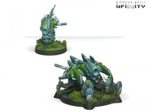 Corvus Belli Infinity  PanOceania Armbots: Peacemaker - 280242-0255 - 2802420002552