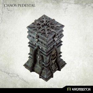 Kromlech   Heretic Legionary Model Kits Chaos Pedestal - KRBK040 - 5902216118829