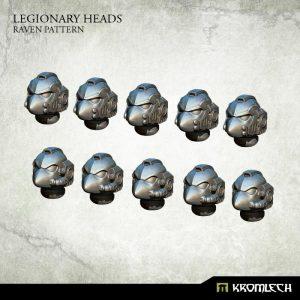 Kromlech   Legionary Conversion Parts Legionary Heads: Raven Pattern (10) - KRCB199 - 5902216115972