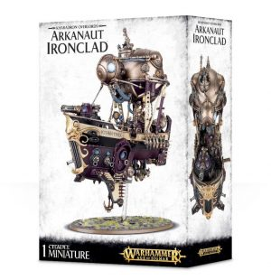 Games Workshop Age of Sigmar  Kharadron Overlords Kharadron Overlords Arkanaut Ironclad - 99120205028 - 5011921083633